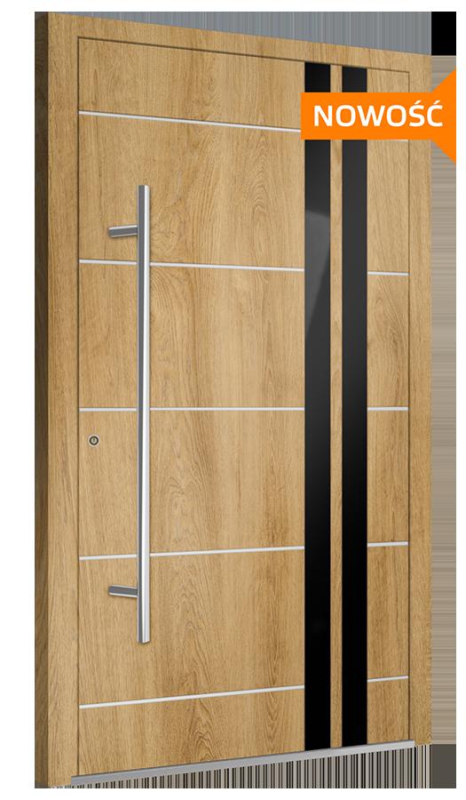 Unikalne Drzwi Wejściowe KRISPOL • Solidne, Ciepłe, Trwałe i Na Lata TC29