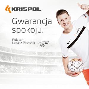 Łukasz Piszczek - Ambasador marki KRISPOL