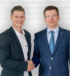 Grzegorz Ratajczak i Łukasz Piszczek