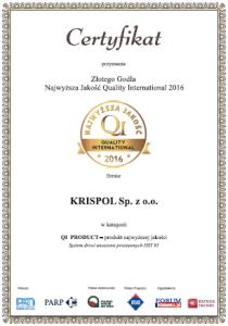 Certyfikat QI