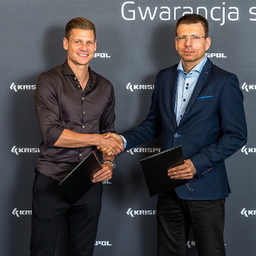 ŁUKASZ PISZCZEK EXTENDED HIS CONTRACT WITH KRISPOL