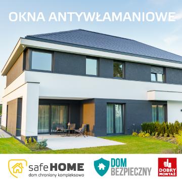 Certyfikowane okna o zwiększonej odporności na włamanie
