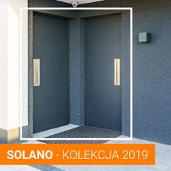 Premiera nowych aluminiowych drzwi zewnętrznych z kolekcji SOLANO