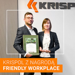 "KRISPOL z tytułem ""Friendly Workplace"""