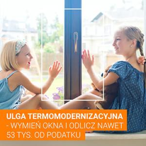 Ulga termomodernizacyjna – wymień okna i odlicz nawet 53 tysiące od podatku!