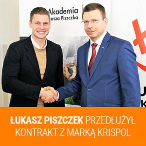 Łukasz Piszczek przedłużył kontrakt z marką KRISPOL