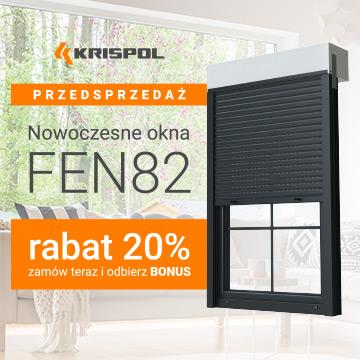 Promocja na Nowoczesne Okna FEN82