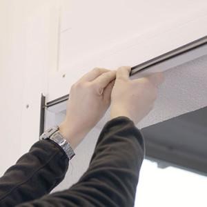KRISPOL sází na teplou montáž garážových bran NOVINKA
