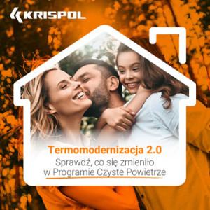 Termomodernizacja 2.0. KRISPOL podpowiada, jak zdobyć środki na bramy, okna, drzwi