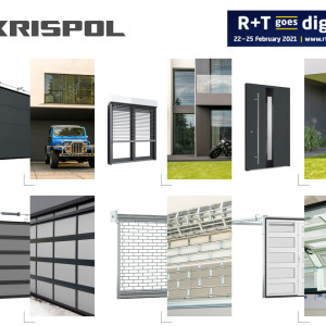 Invitation: KRISPOL at R+T 2021 digital exhibition