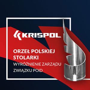 KRISPOL wyróżniony Orłem Polskiej Stolarki